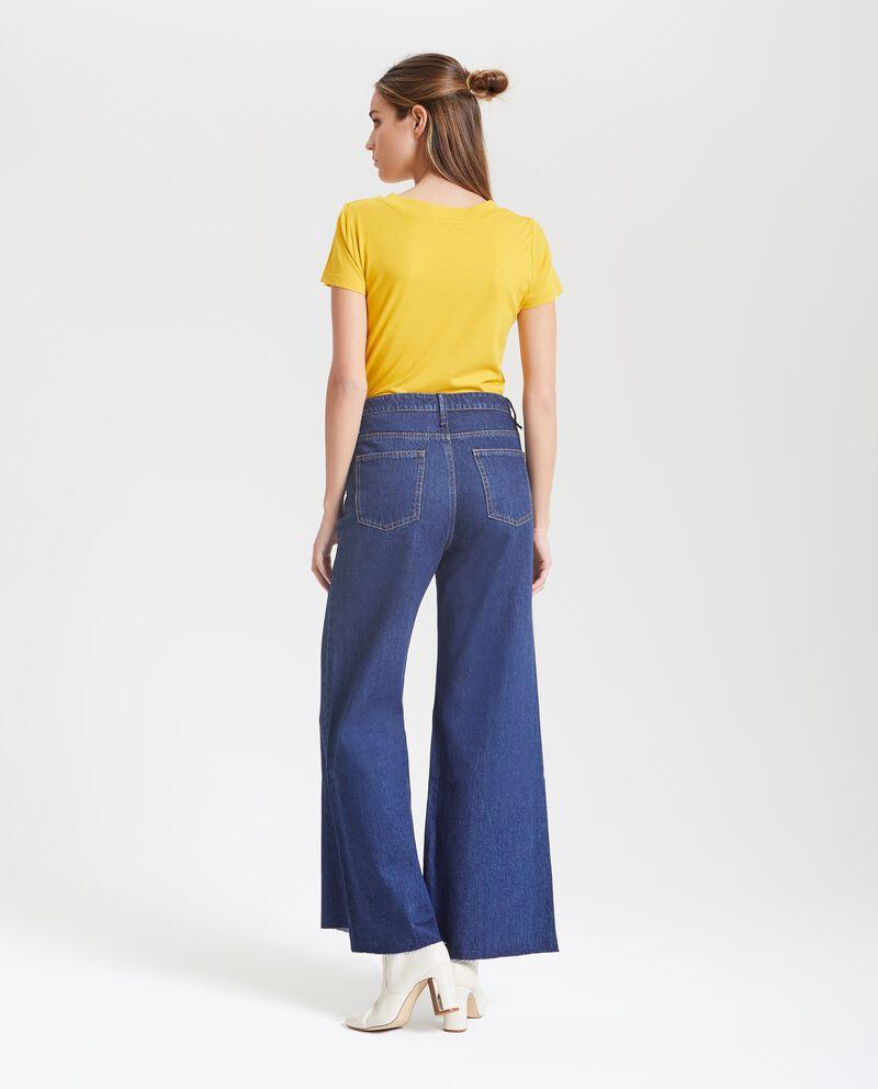 Jeans a zampa cinque tasche donna