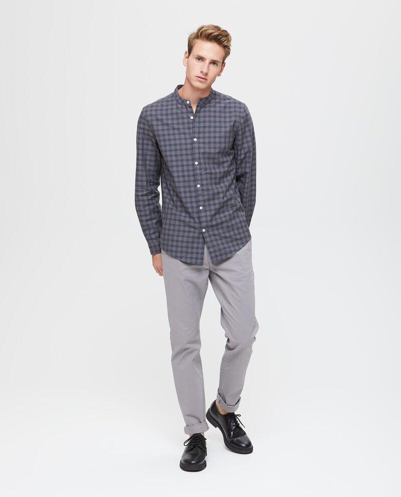Camicia in puro cotone a quadri