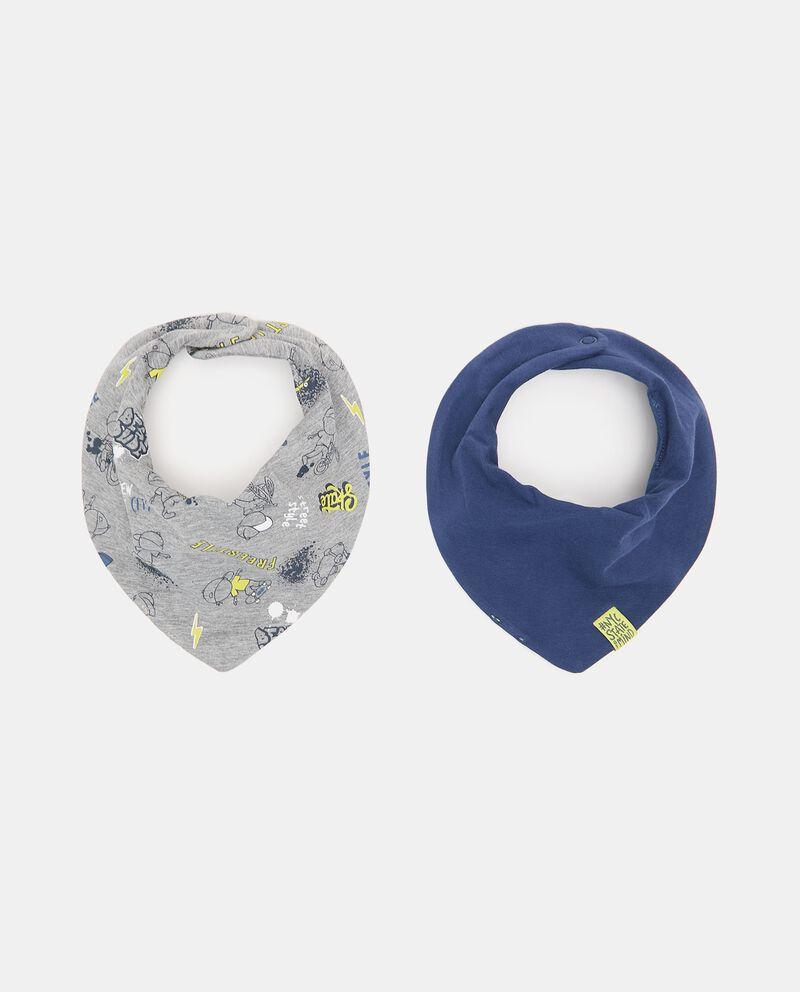 Pack con 2 bandane di cotone stretch neonato cover