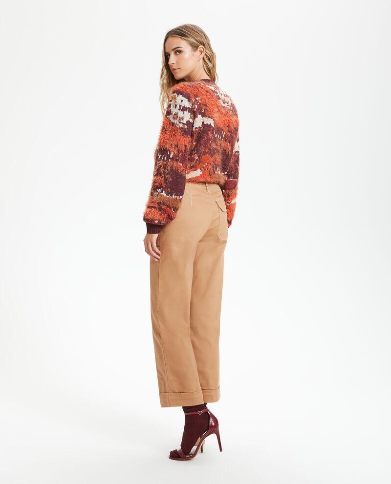 Pantalone palazzo cropped donna