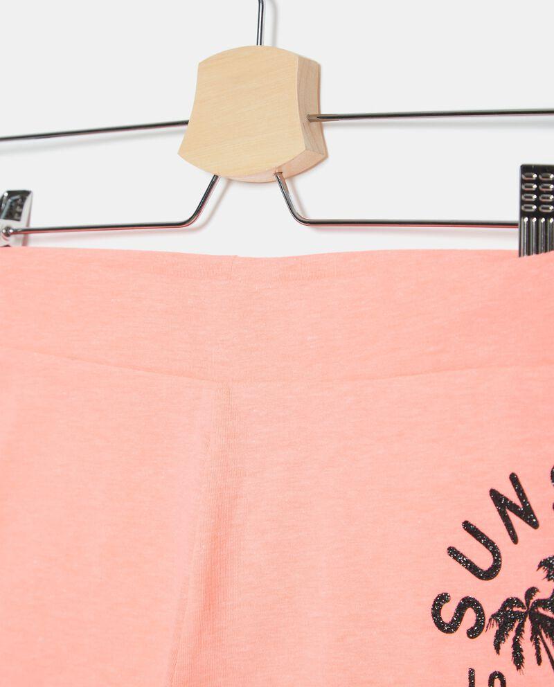 Bermuda corti in jersey stretch ragazza