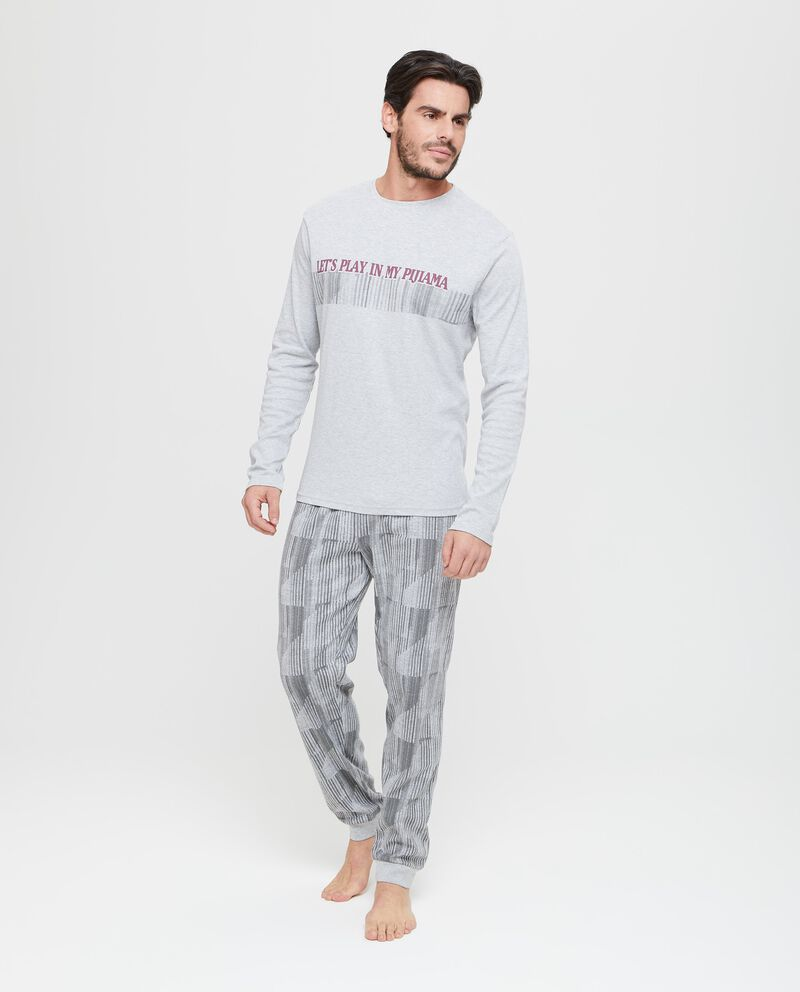 Maglia pigiama stampa lettering