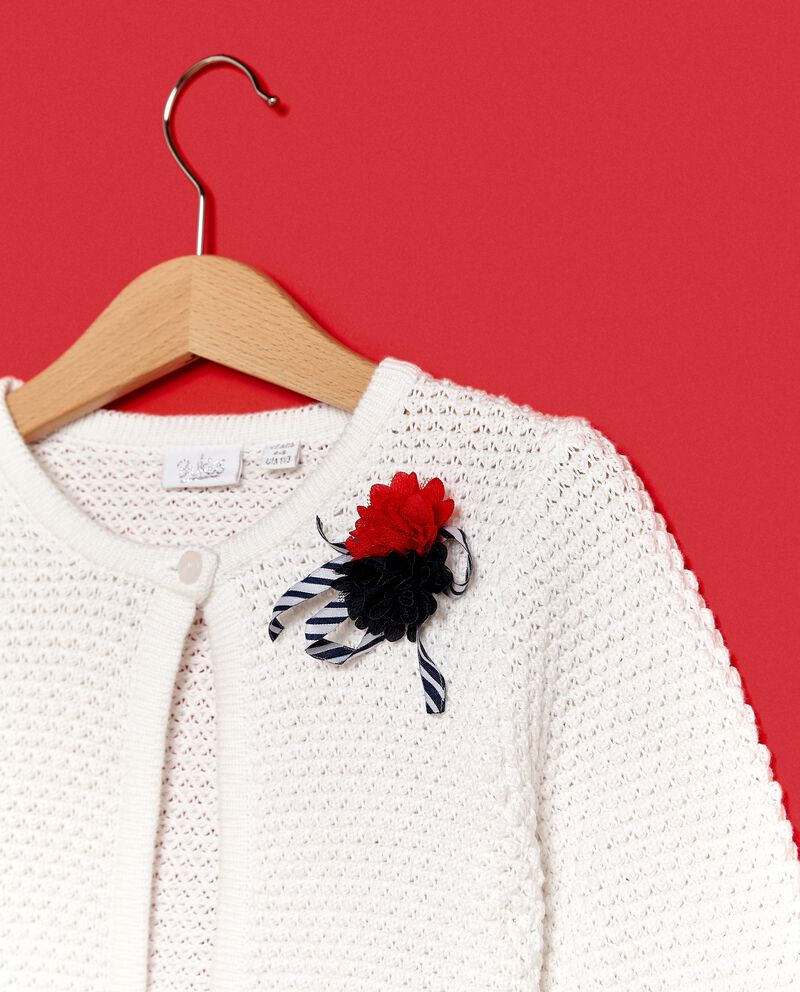 Golfino tricot in tinta unita bambina