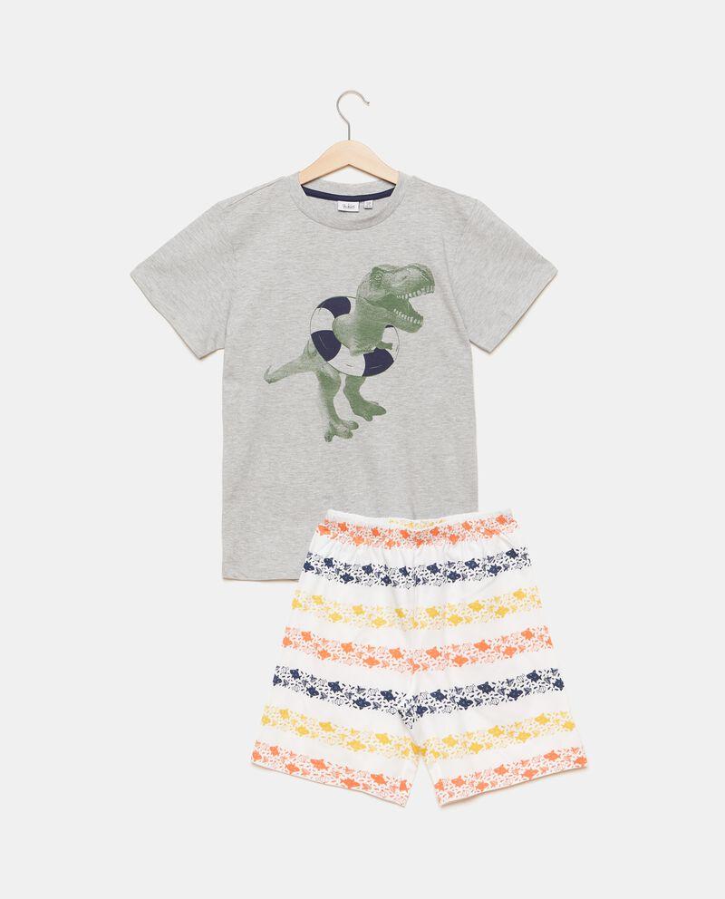 Set pigiama con t-shirt e shorts bambino