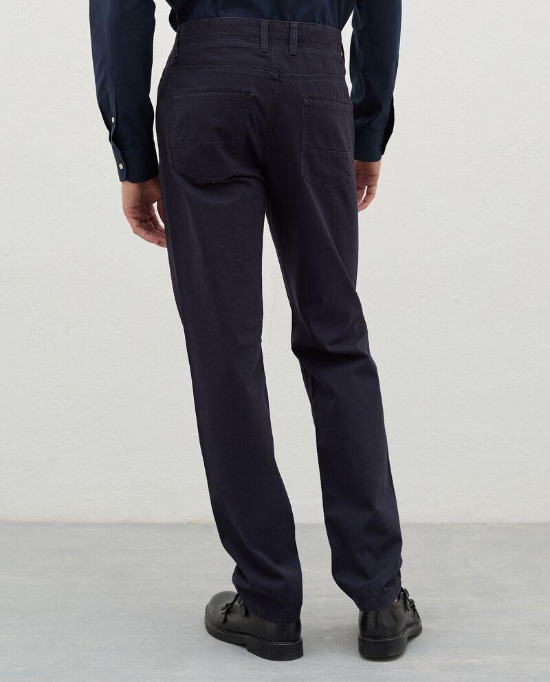 Pantaloni chino in puro cotone uomo single tile 1