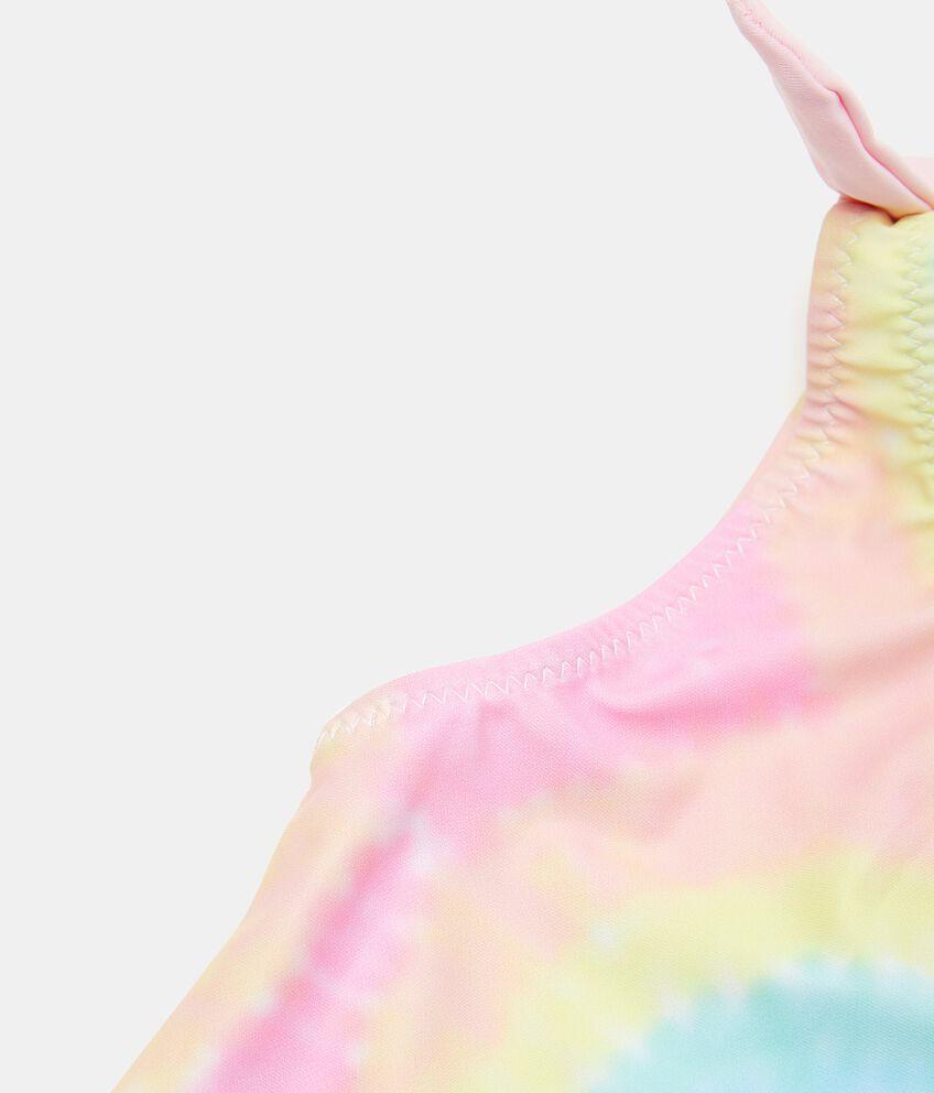 Costume intero tie and dye bambina