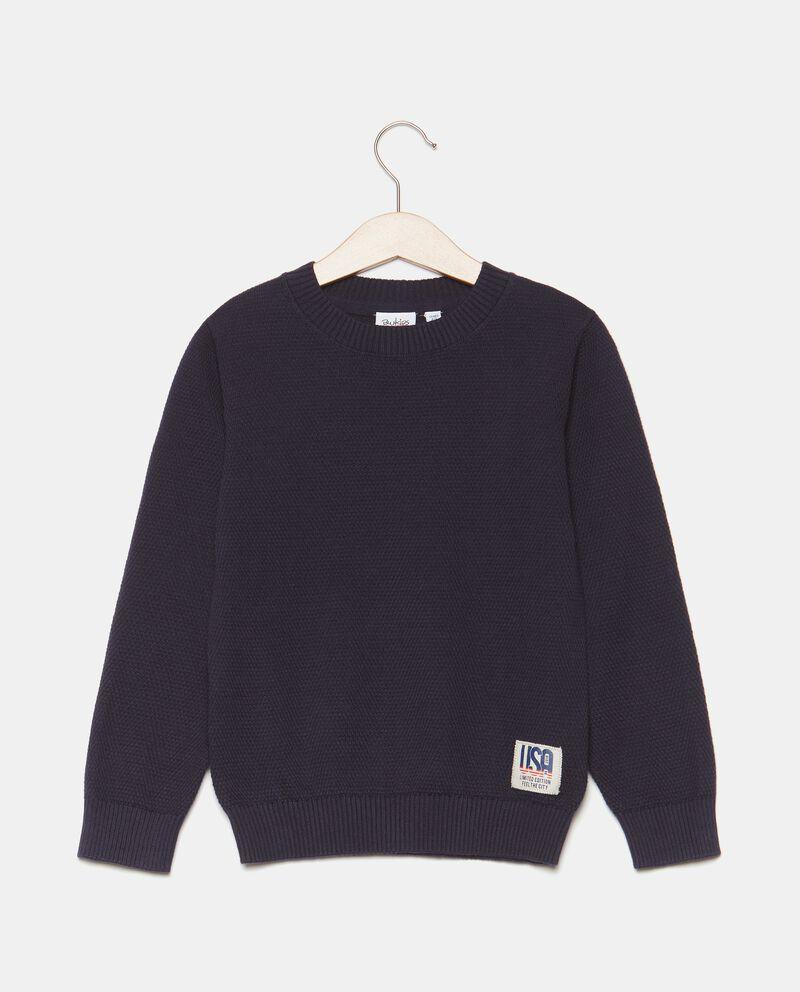 Girocollo in tricot di cotone bambino cover