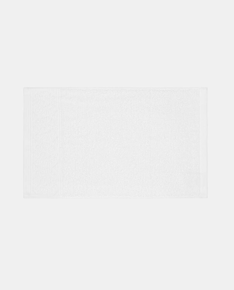 Asciugamano ospite jacquard floreale single tile 1
