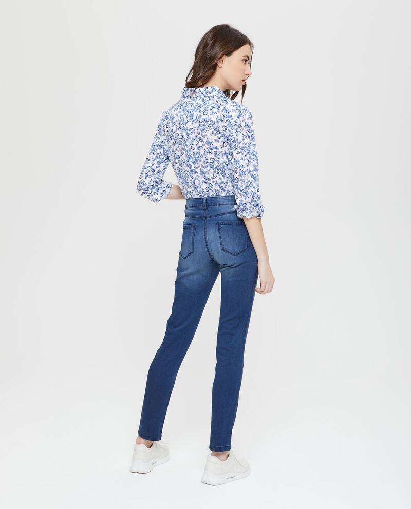 Jeans push up cinque tasche