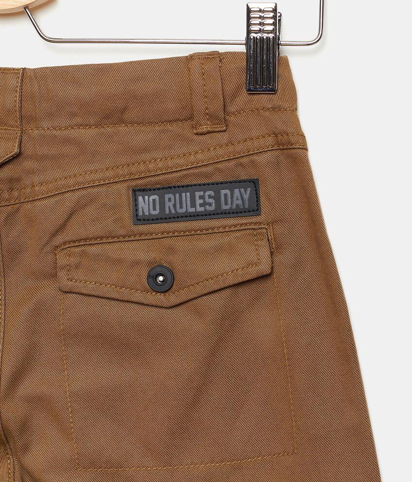 Pantaloni classici tinta unita ragazzo