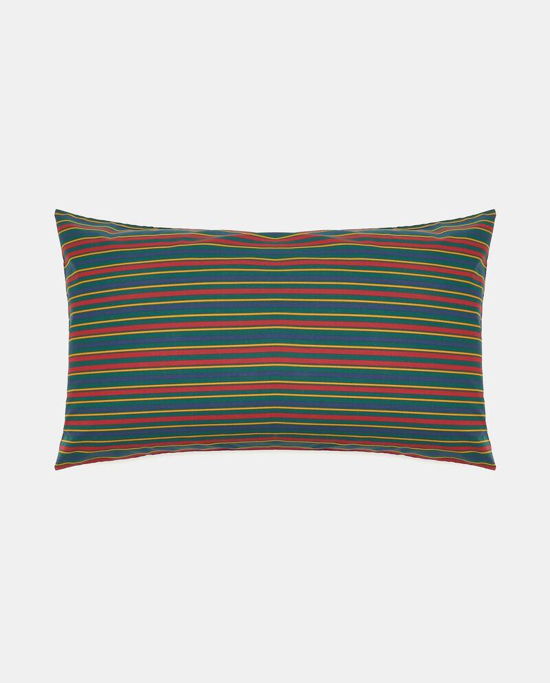 Federa con stampa stripes in puro cotone cover