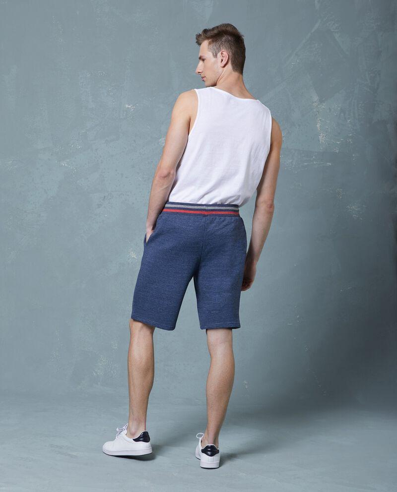 Pantaloncini uomo in cotone in tinta unita