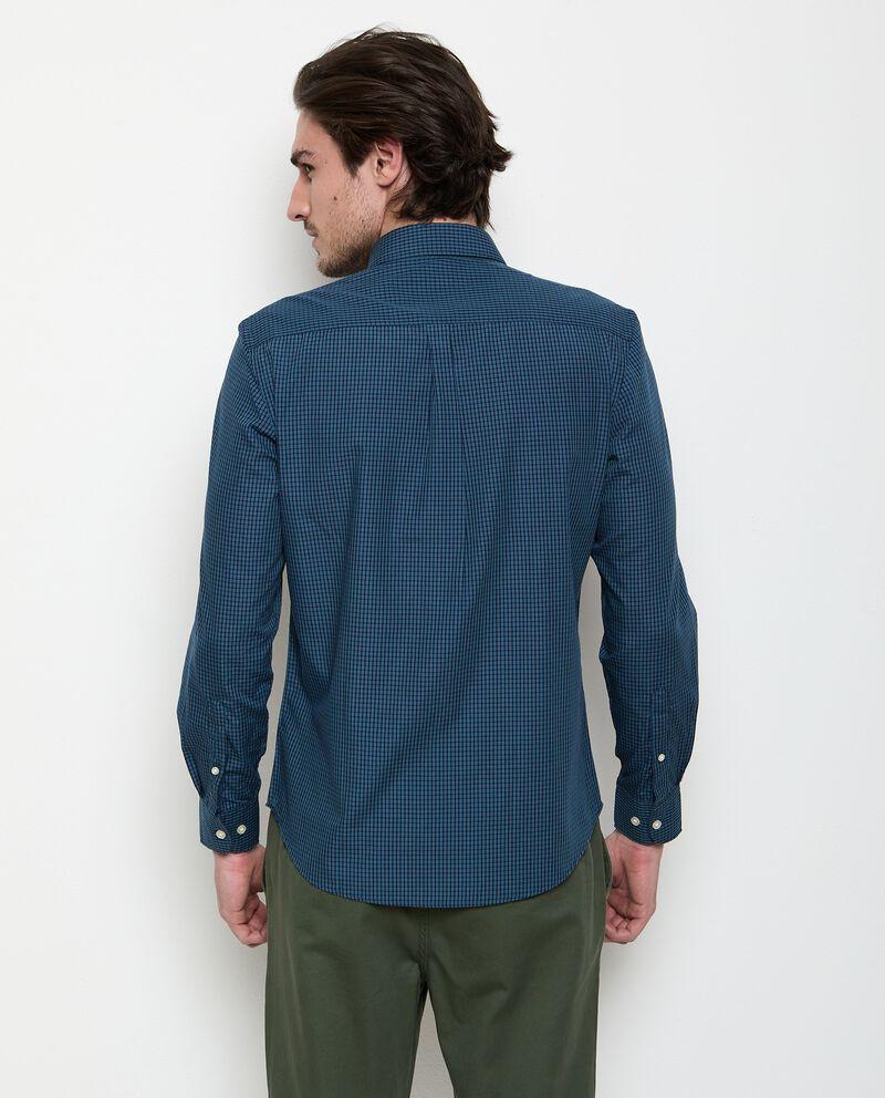 Camicia a quadri in cotone uomo single tile 1