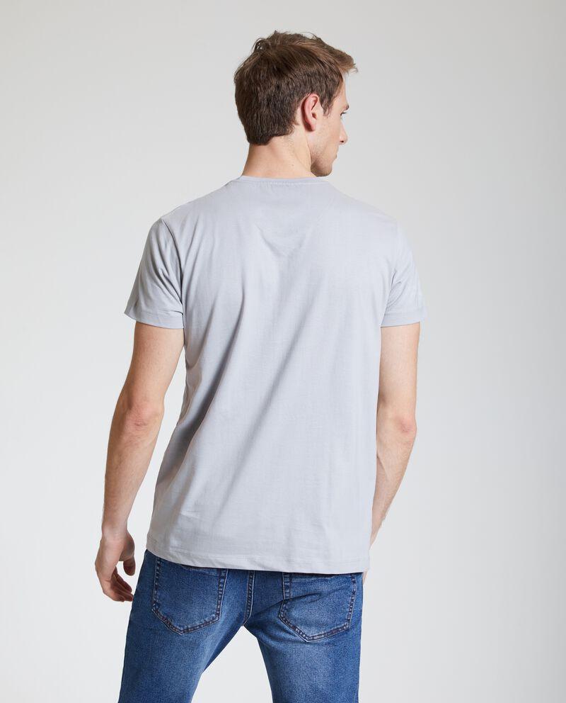 T-shirt puro cotone uomo