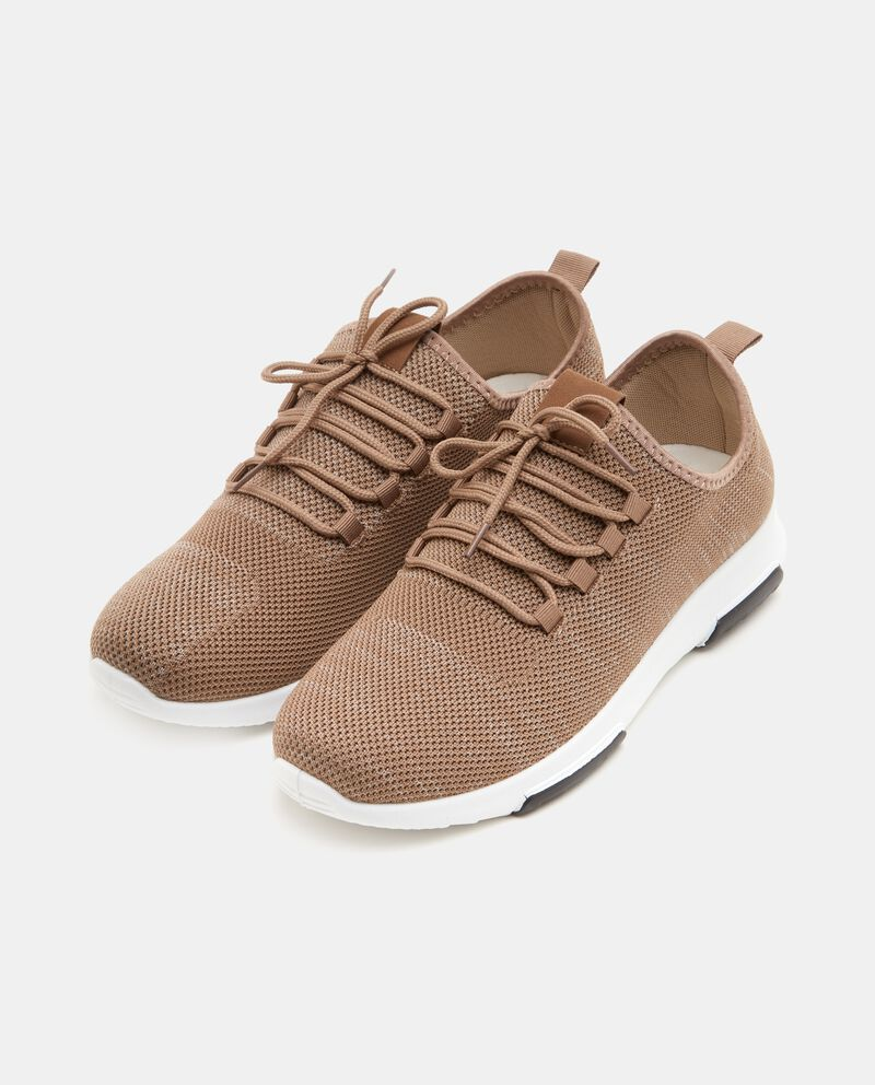 Sneakers effetto mélange uomo