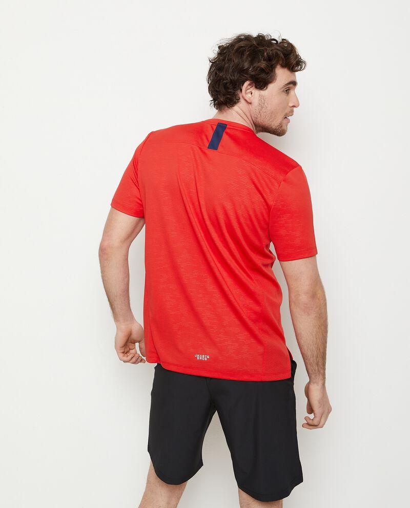 T-shirt con stampa girocollo uomo