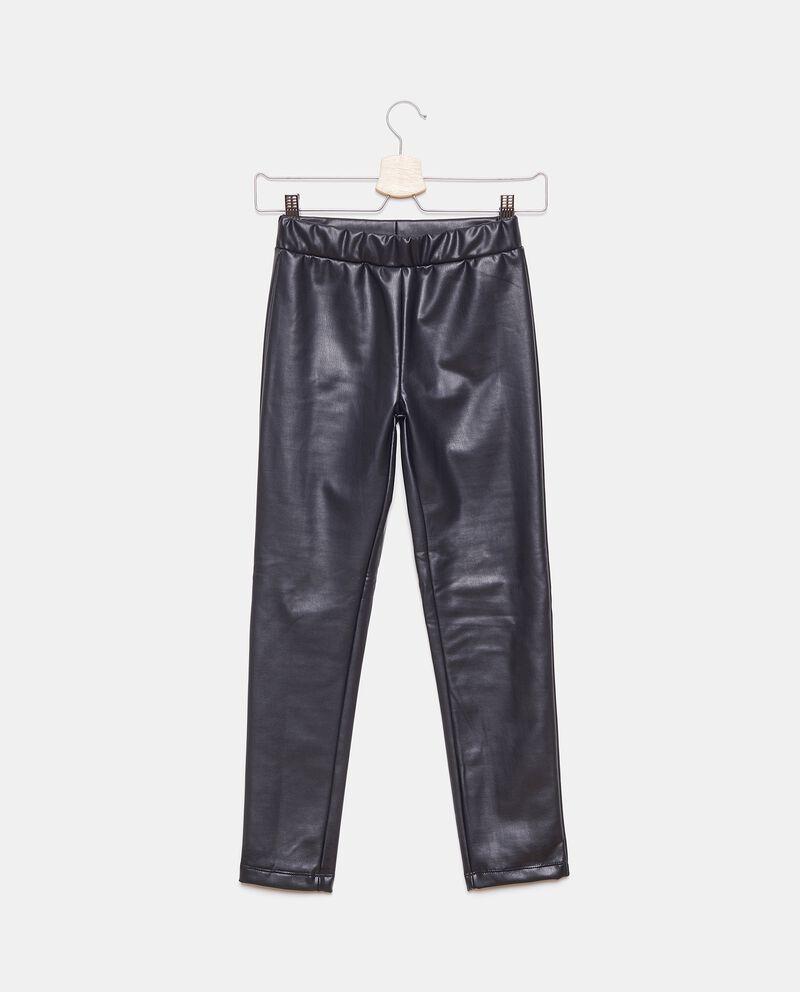 Pantaloni in ecopelle ragazza