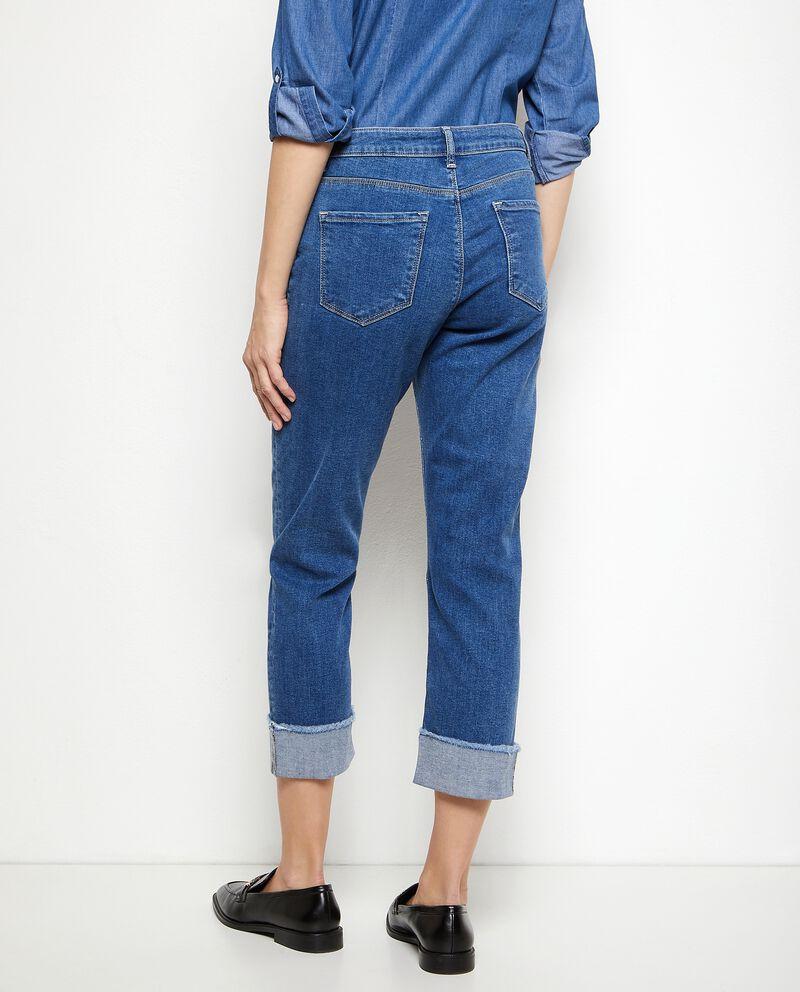 Jeans capri regular donna