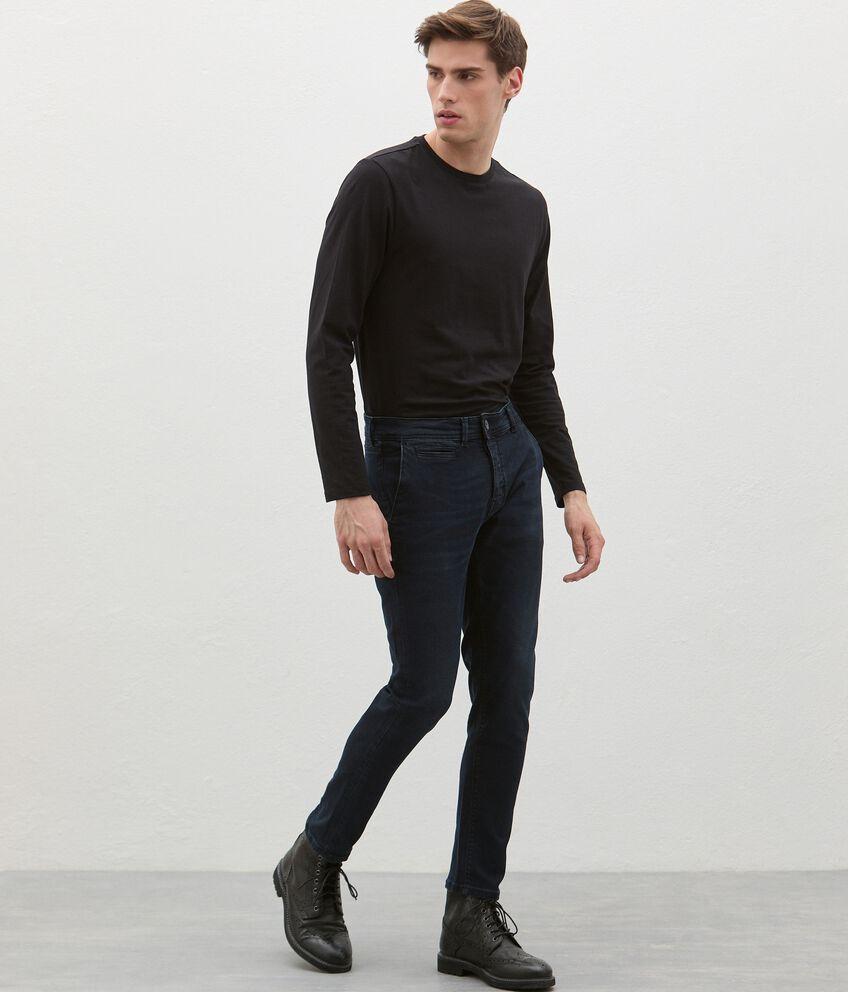 Jeans di cotone stretch uomo double 1