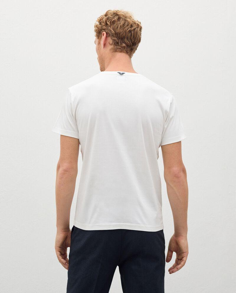 T-shirt Fitness in puro cotone uomo single tile 1