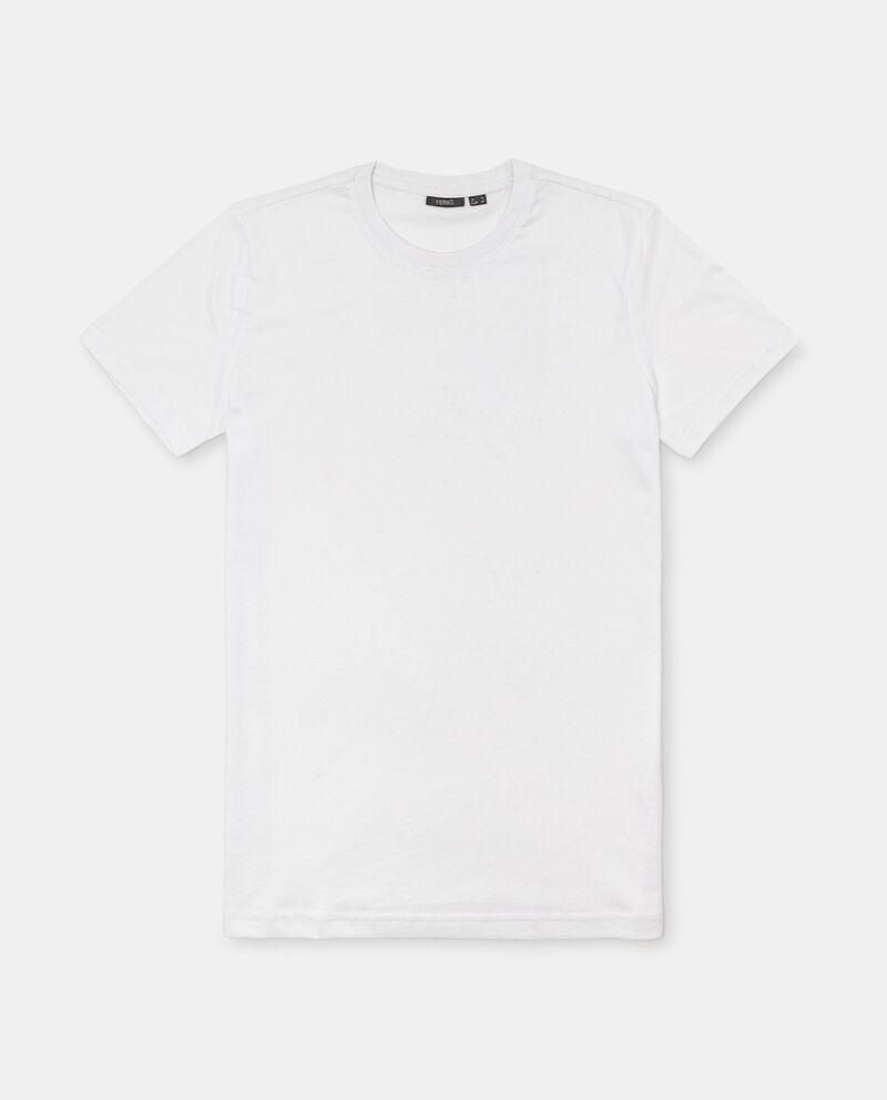 Set 3 t-shirt intime girocollo di puro cotone uomo single tile 1