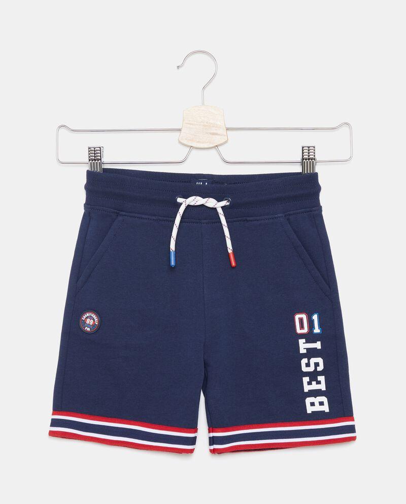 Shorts con motivo a righe bambino