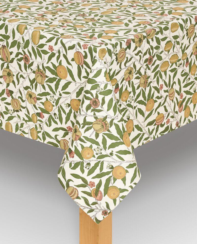Tovaglia con stampa frutta in puro cotone cover