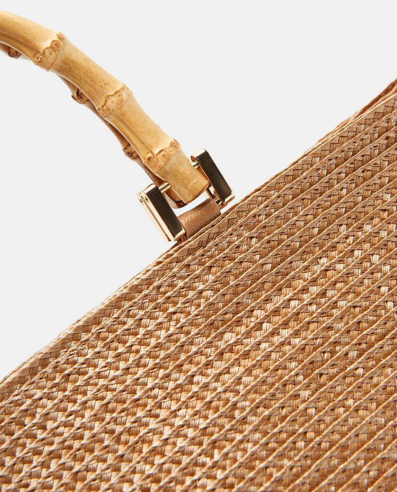 Borsa con manico bamboo
