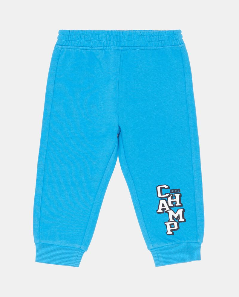 Pantaloni puro cotone lettering
