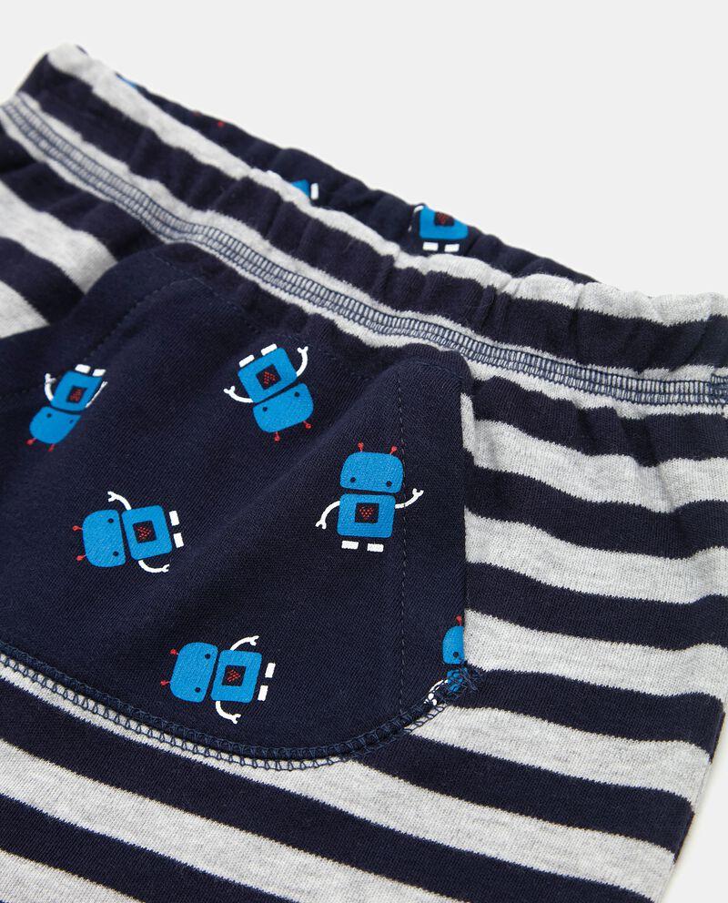 Pantaloni a righe neonato