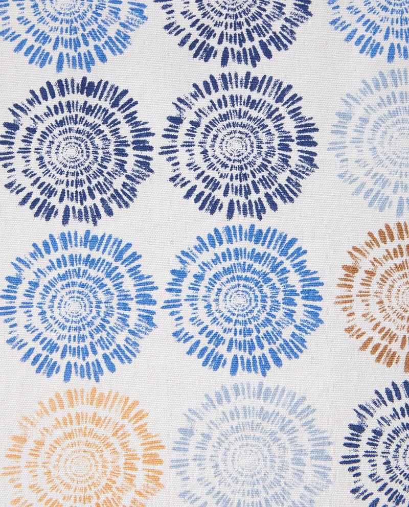 Tovaglia stampa fiori in puro cotone single tile 1