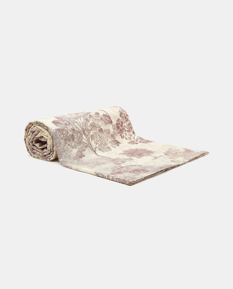 Telo con decoro caccia in puro cotone cover