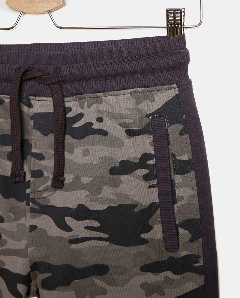 Pantaloni in fantasia militare ragazzo