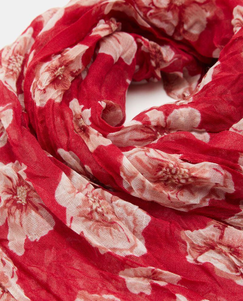 Sciarpa leggera in fantasia floreale donna