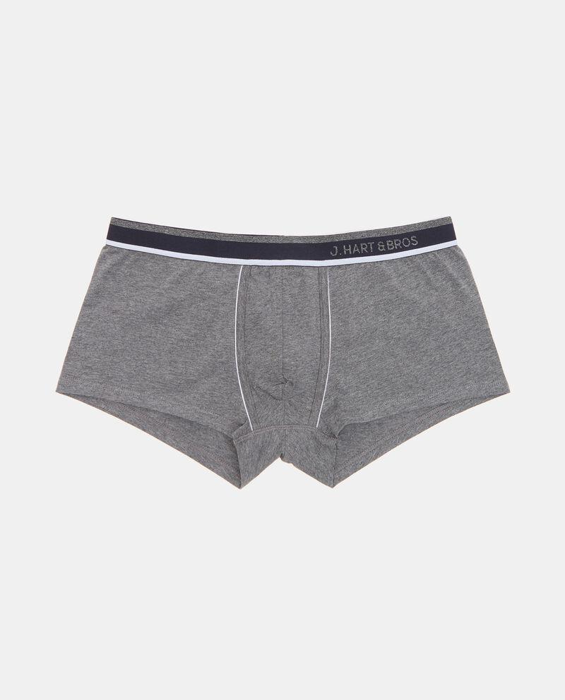 Set con 3 boxer di cotone elasticizzato uomo single tile 1
