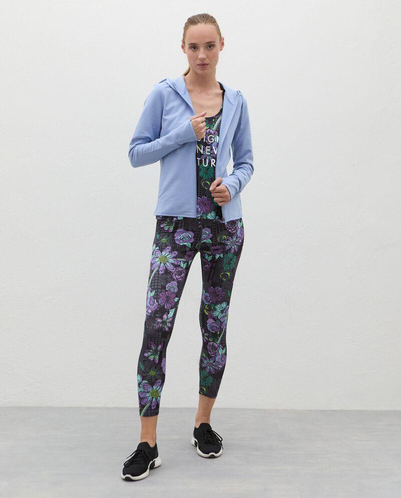 Leggings stampati Fitness donna cover