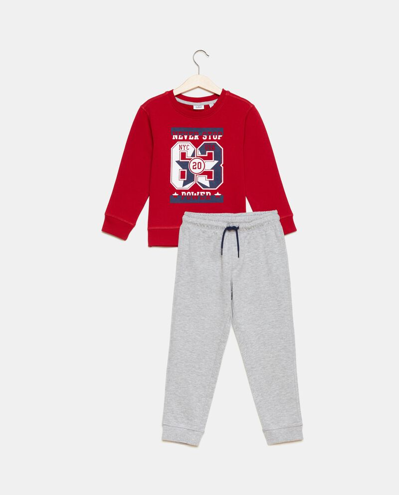 Set con felpa e pantaloni bambino