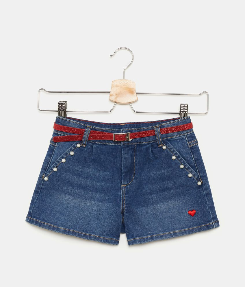 Shorts con perline bambina double 1