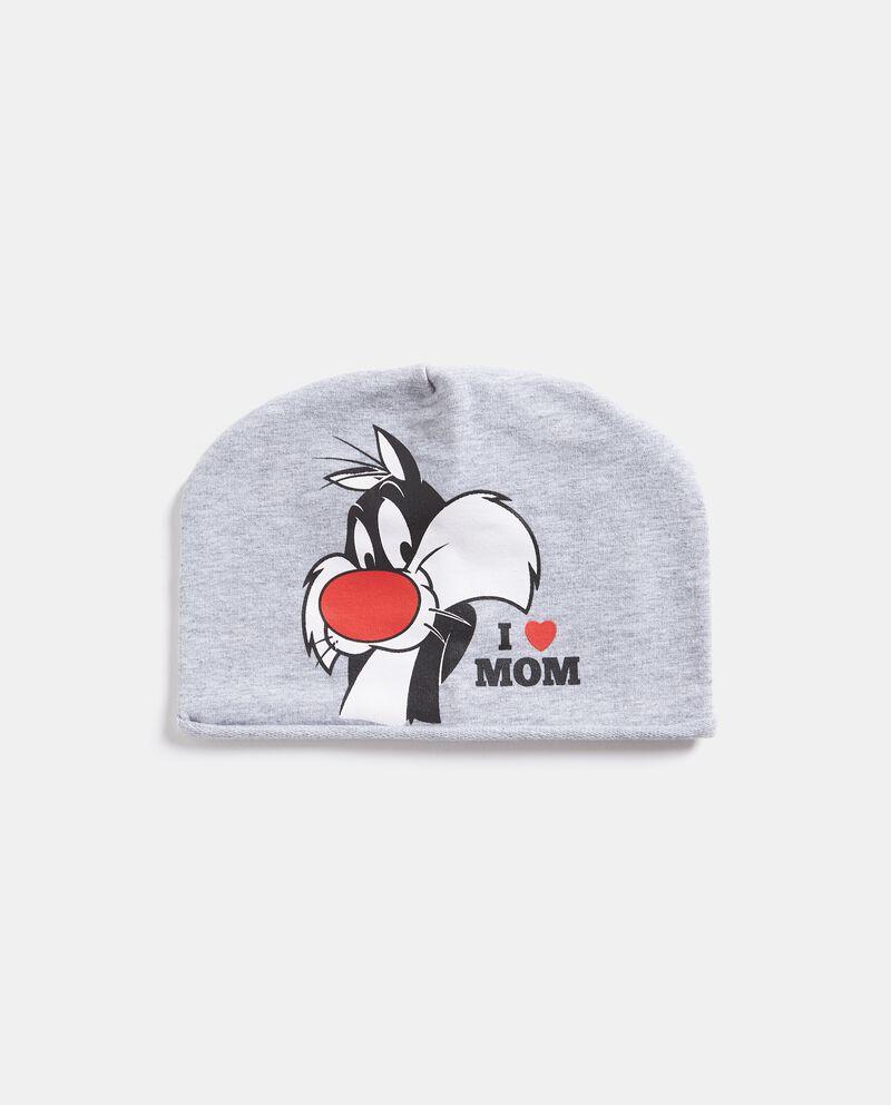 Cappellino con stampa Gatto Silvestro neonato
