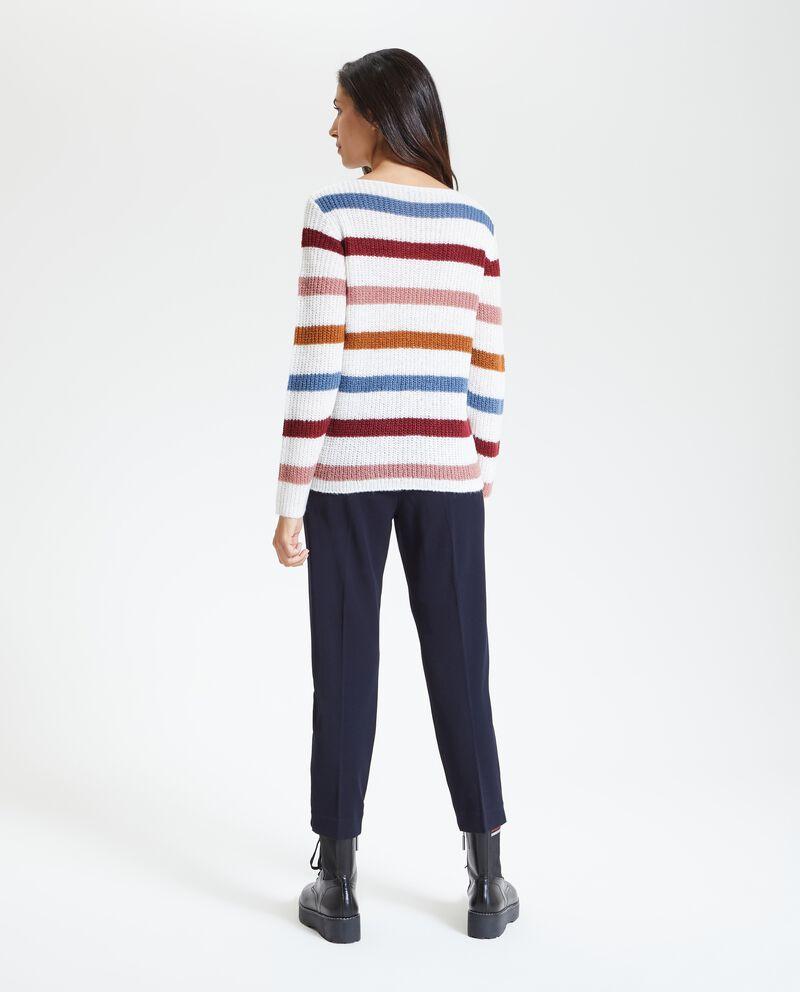 Pullover a righe donna