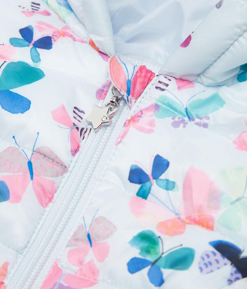Piumino fantasia farfalle neonata