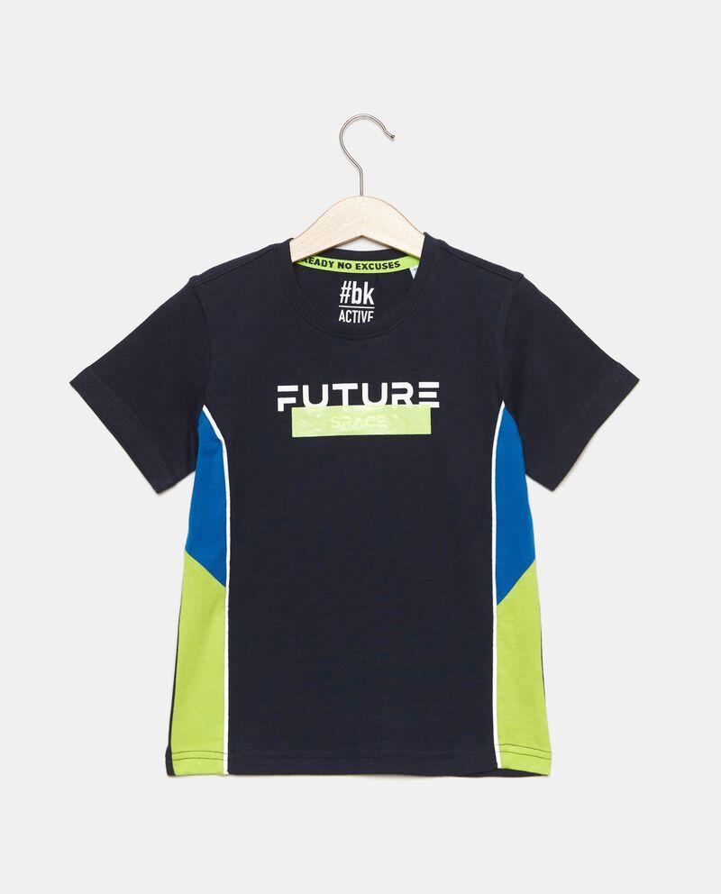 T-shirt in puro cotone stampata bambino cover