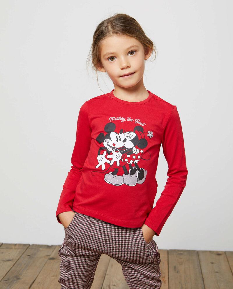 T-shirt stretch Mickey Mouse e Minnie