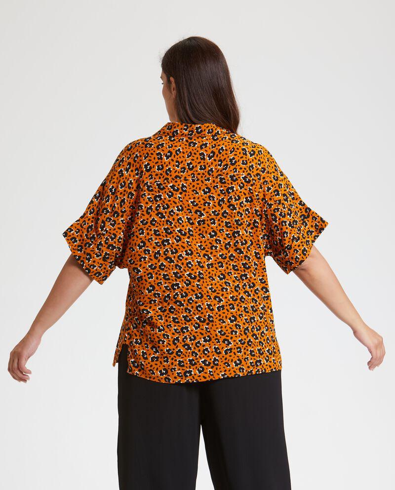 Camicia animalier Curvy donna
