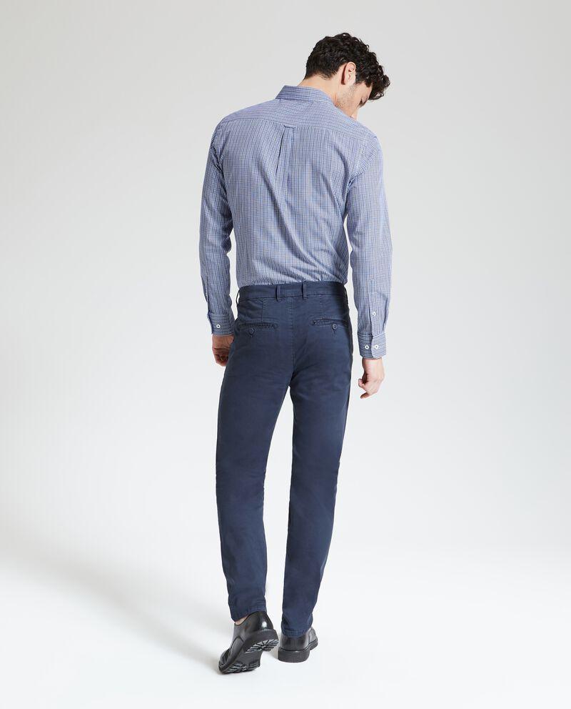 Pantaloni tinta unita chino uomo