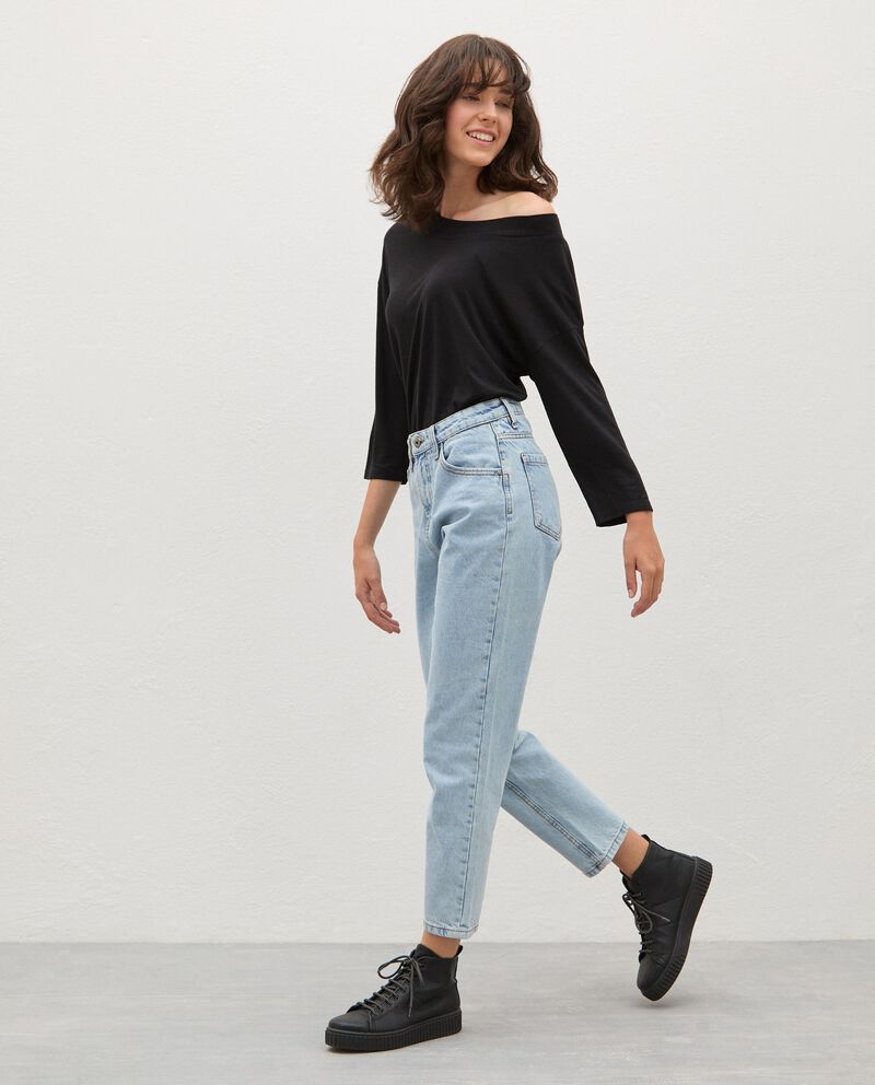 Jeans fit mom donnadouble bordered 0