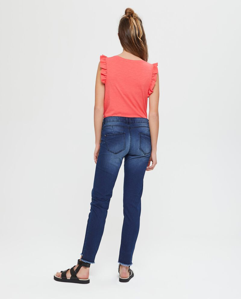 Jeans in cotone push up