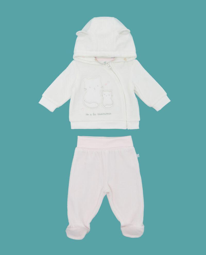 Completo felpa e pantaloni