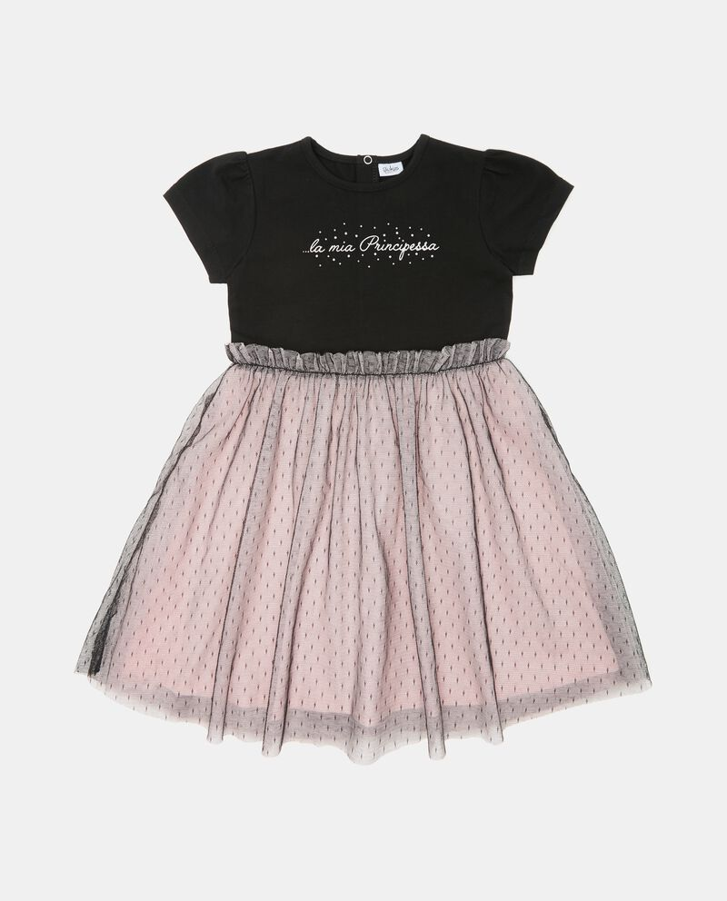 Vestito con gonna tulle neonata