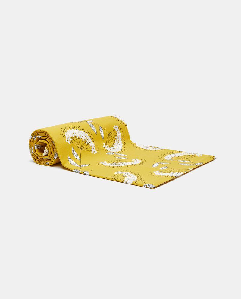 Telo con stampa soffioni in puro cotone cover